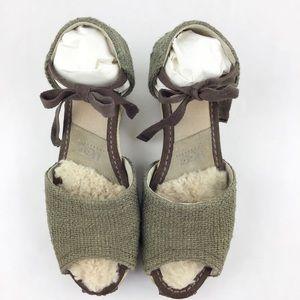 UGG Espadrille Open Toe Sandals l Size 8